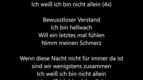alone walker alan lyrics german