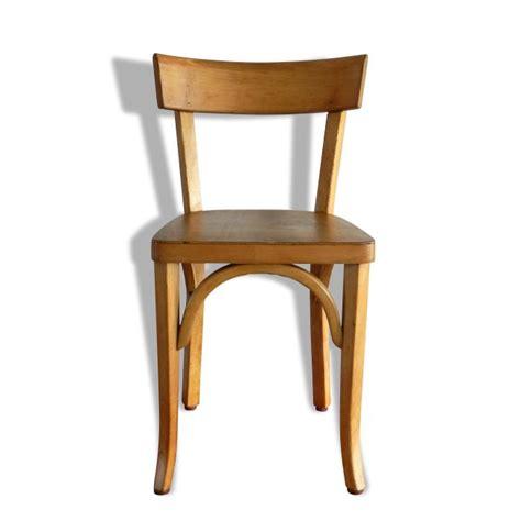 chaise bauman chaise de bistrot baumann version enfant bois matériau