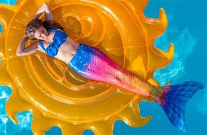 Transform Into A Mermaid With A Sparkly Swimmable Mermaid