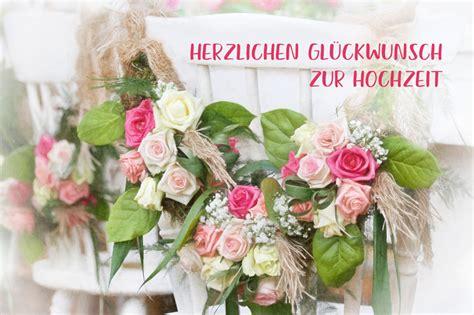 Es soll euch immer eine erinnerung geben, wie. Herzlichen Glückwunsch zur Hochzeit, Stühle mit Rosen - www.Stimmungs-Bilder.de