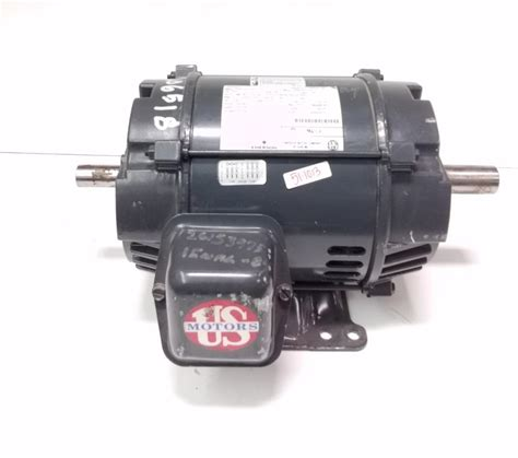 Emerson Electric Motors by Emerson Electric Motor 3hp 1770rpm 230 460v 3phase 6206 2z