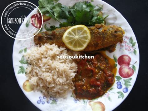 cuisine avec du riz poisson à la marocaine et riz blogs de cuisine