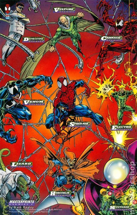 spider man masterprints  comic books