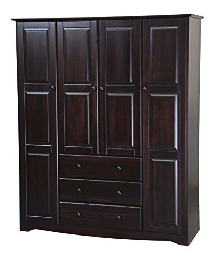 Buy Armoire Closet by New 100 Solid Wood Family Wardrobe Armoire