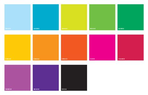 bright color palette can i mix these two colour palettes and how do i pair up