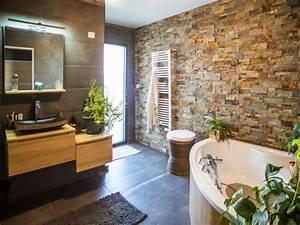 Parement Salle De Bain : id e d coration salle de bain salles de bains styles ~ Melissatoandfro.com Idées de Décoration