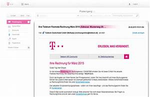Angaben Auf Rechnung : online rechnung telekom f hrt neue sicherheitsmerkmale ~ Themetempest.com Abrechnung