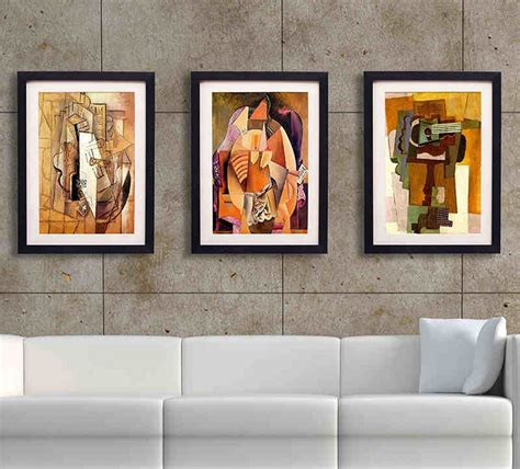 Decorative Room With Framed Wall Art — The Home Redesign