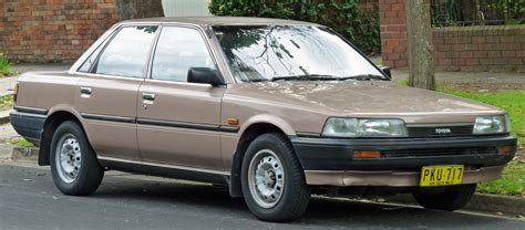 1989 Toyota Camry by 1989 Toyota Camry Information And Photos Momentcar