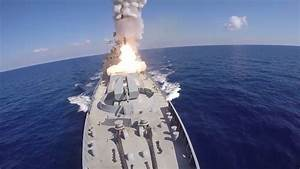 Military and Commercial Technology: Russian warships fire ...