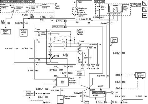 chevy tahoe wiring diagram   downloadable