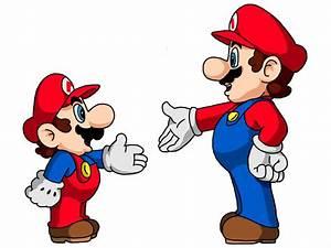 Mario meets Mario by delvallejoel on DeviantArt