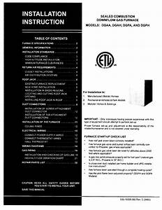 York Dgaa056bdta Installation Instructions Manual Pdf