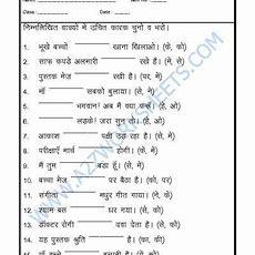 Hindi Grammar  Kaarak Bharo  Hindi Grammar  Grammar, Language, Worksheets