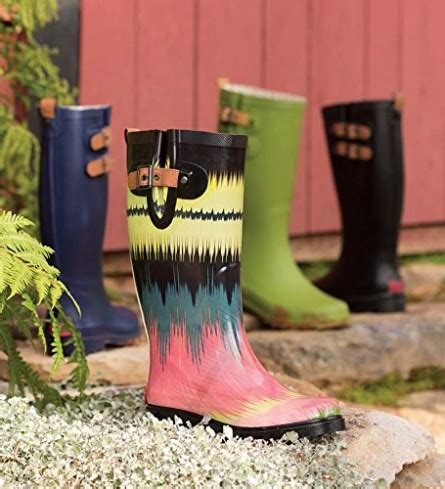Chooka Women's Top Solid Tall Rain Boot,Green,7 M US ...