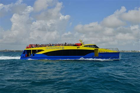 Catamaran Ultramar Cancun by High End Catamaran City Ferries To Service Cancun