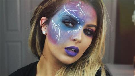 storm halloween makeup tutorial youtube