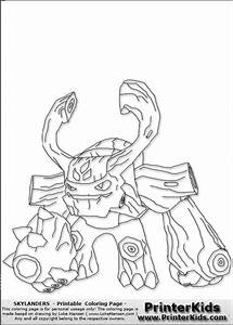 Chill Coloring Page | Skylander's Coloring Pages | Pinterest