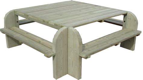 building plans for hexagon picnic table woodworking projects