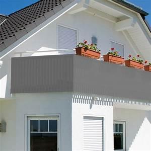 Balkon Sichtschutz Hoch : balkonsichtschutz sichtschutz windschutz 600x75cm mit farbauswahl grau ~ Sanjose-hotels-ca.com Haus und Dekorationen