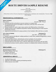 how to write a resume for delivery driver full version With driver resume sample