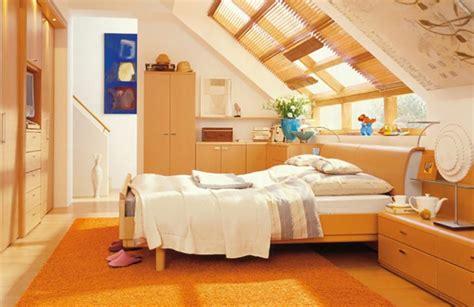 chambre dans les combles aménagement des combles pour une chambre sous toit