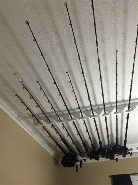 ceiling mount fishing rod racks ceiling mounted rod holder saltwater fishing forums