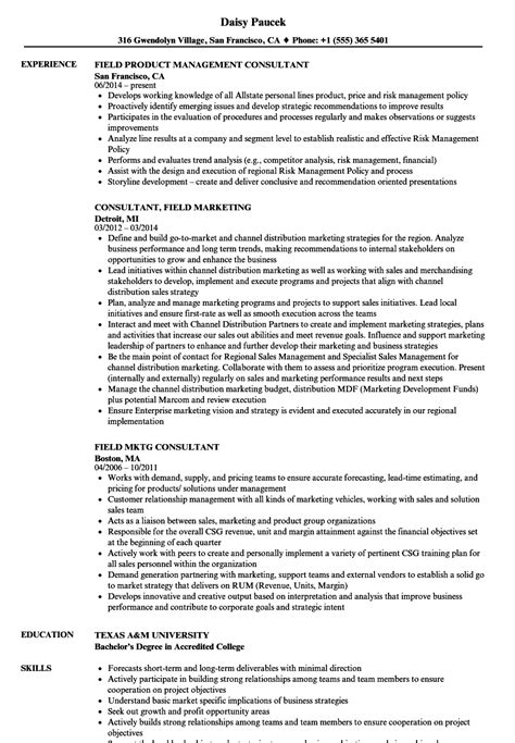field consultant resume samples velvet jobs