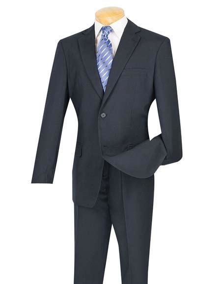 Navy blue skirt suit 8p great condition lined 501. Men's Cheap Priced Dark Navy Blue Suit For