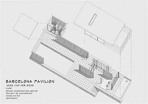 Drawing Midterm: Barcelona Pavilion | Hande Sığın