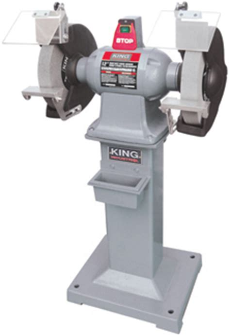 king canada kc   heavy duty bench grinder