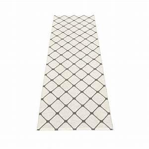rex tapis long tapis de couloir pappelina charcoal With tapis long de couloir