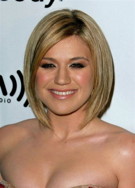 slimming hairstyles for chubby faces long bob the bob is