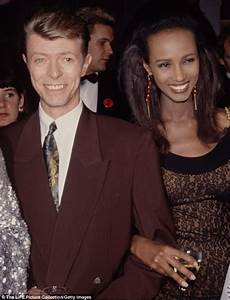 Supermodel Iman Shares Rare Photo Of Her And David Bowie's ...