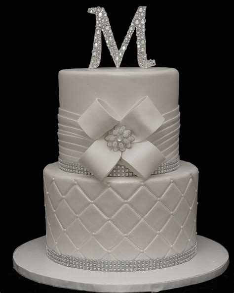 Measure milk into a 2 cup measuring cup and add the juice of half of a lime to the milk. White on White Wedding Cake with Bling - - Cake in Cup NY