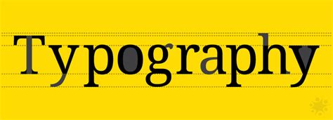 typographic terms every designer should know