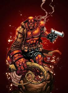 Hellboy by AlonsoEspinoza on DeviantArt