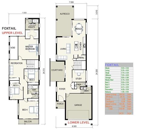 scintillating small narrow lot house plans contemporary
