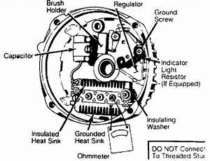 Alternator  Integral Regulator    Brush    1984