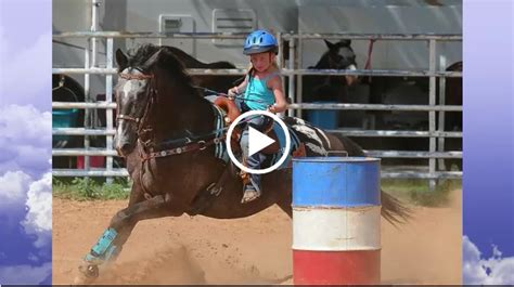 tribute   year  piper faust barrel racer