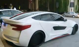 tesla model  tuningbolide von william autozeitungde