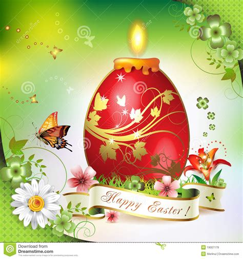 easter card royalty  stock images image