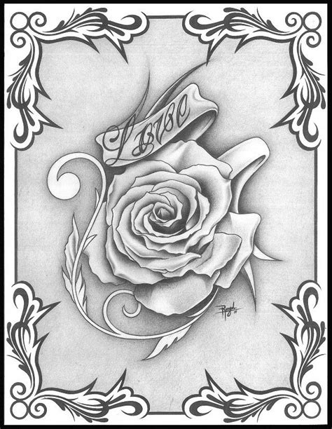 Pin by Michelle Gamboa-Clift on Drawings in 2019 | Love coloring pages, Tattoo drawings, Cool