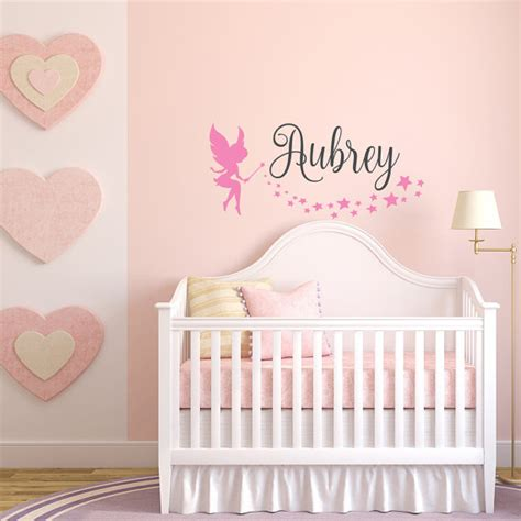 personalized name wall decals for room custom wall