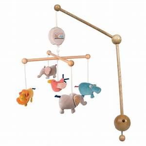Mobile Musical Pour Bébé : mobile musical les papoum de moulin roty en vente chez cdm ~ Teatrodelosmanantiales.com Idées de Décoration