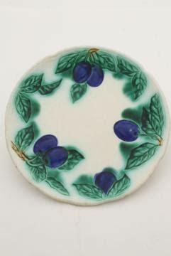 majolica  italian pottery tableware