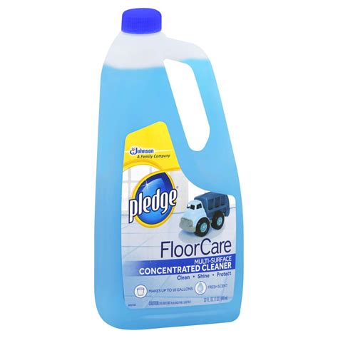 pledge concentrated multi surface floor 32 oz