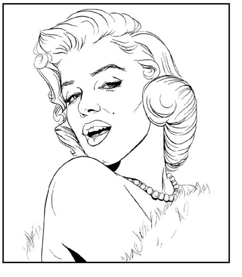 pin  girl coloring pages coloring home