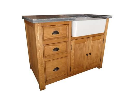 meuble evier cuisine meuble evier de cuisine en pin