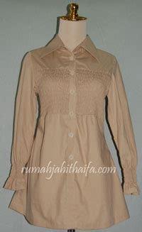 blouse lengan balon polos penjahit busana wanita rumah jahit haifa